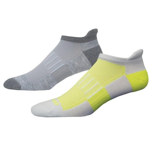 Brooks Running Ghost Midweight 2-Pack Sock Unisex OXford/Asphalt