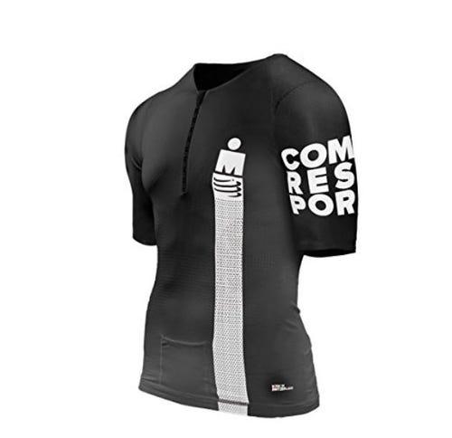 IRONMAN CompresSport Men's TR3 Aero Smart Top - Black