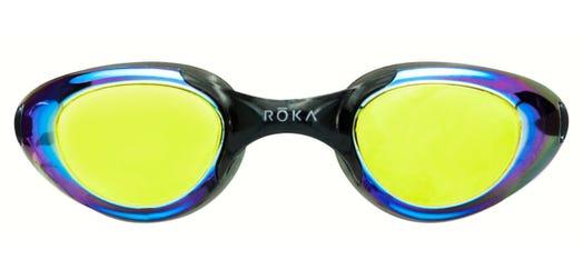 IRONMAN ROKA F2 Goggle - Amber Mirror