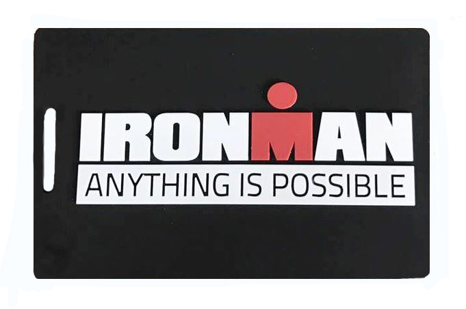 IRONMAN Anything is Possible Luggage Tag - Black
