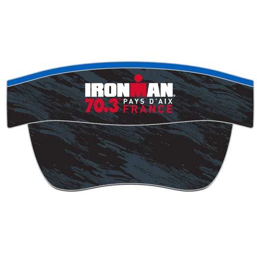 IRONMAN 70.3 PAYS D'AIX EVENT VISOR - BLACK/GREY