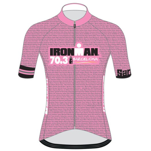 IRONMAN 70.3 BARCELONA WOMEN'S CYCLE JERSEY