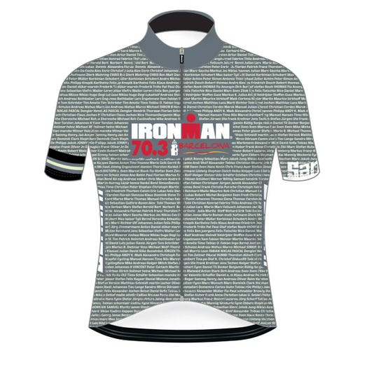 IRONMAN 70.3 BARCELONA 2019 MEN'S NAME CYCLE JERSEY