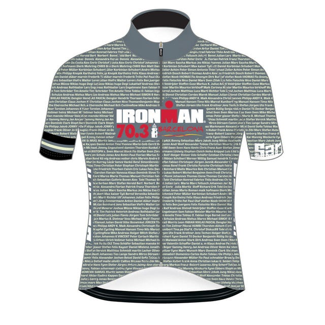 IRONMAN 70.3 BARCELONA MEN'S CYCLE JERSEY