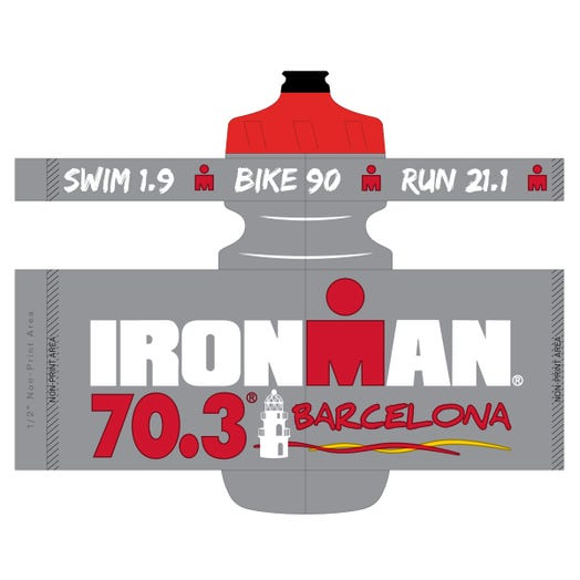 IRONMAN 70.3 BARCELONA 2019 WATER BOTTLE COLOR