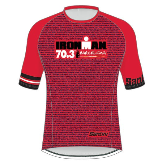 IRONMAN 70.3 BARCELONA MEN'S PERFORMANCE TEE