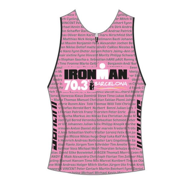 IRONMAN 70.3 BARCELONA WOMEN'S TRI TOP