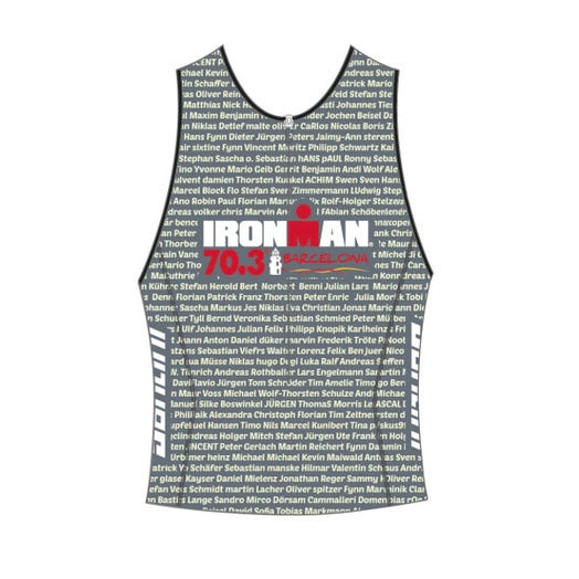 IRONMAN 70.3 BARCELONA MEN'S TRI TOP