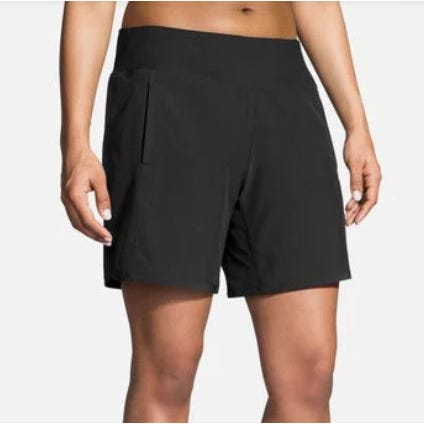 "Brooks Running Ladies Chaser 7"" Short Black"
