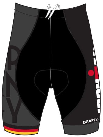 IRONMAN Men's Team Germany Tri Shorts