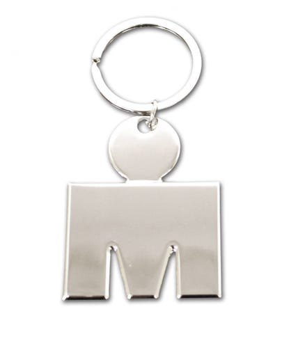IRONMAN MDOT Chrome Key Chain