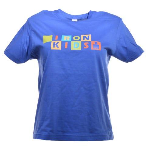 IRONKIDS Rainbow Kids' Tee - Blue