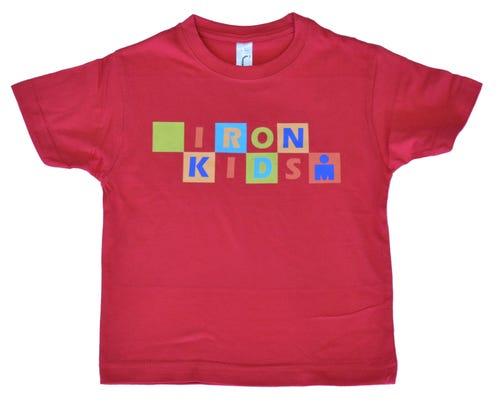 IRONKIDS Rainbow Kids' Tee - Red