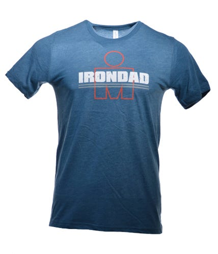 IRONDAD M-Dot Men's Tee - Blue