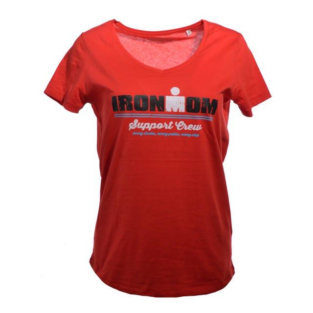 IRONMOM Support Crew Women's Tee - Red