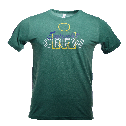 IRONMAN Support Crew Men's Tee - Green