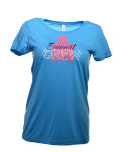 IRONMAN Support Crew Women's Tee - Aqua