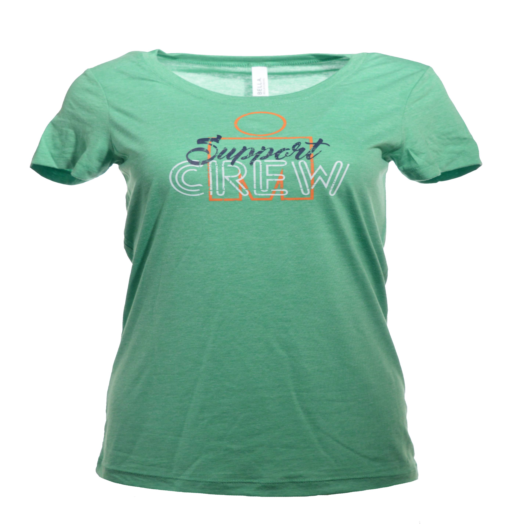 IRONMAN Support Crew Women's Tee - Green