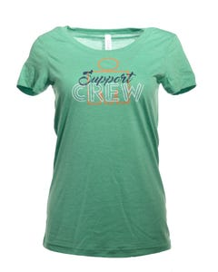 IRONMAN Support Crew Women's Tee - Green