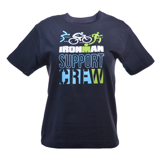 IRONMAN Support Crew Kids Tee - Navy