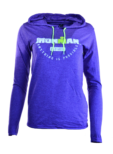 IRONMAN Women's Long Sleeve Tee - Purple