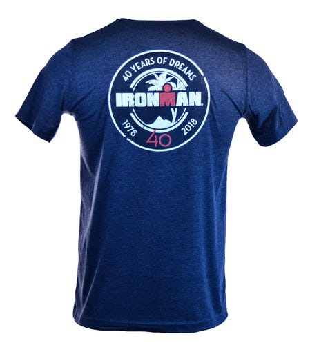 IRONMAN 40th Anniversary Men's BADGE Tee