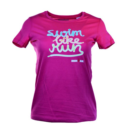 IRONMAN Kids Swim, Bike, Run Spell-out Tee
