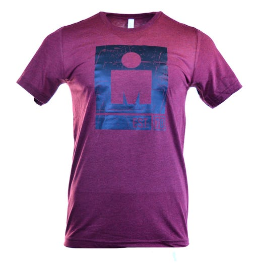 IRONMAN Outlined M-DOT Men's Tee - Red