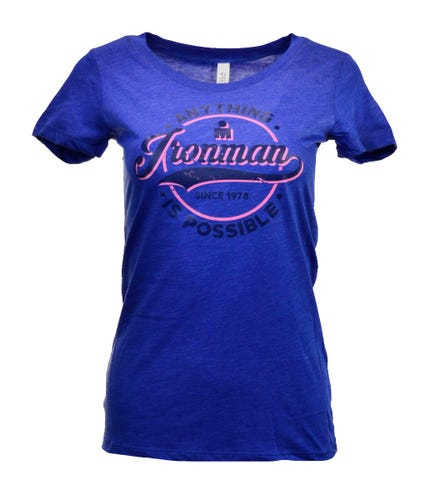 IRONMAN WOMEN'S ANYTHING IS POSSIBLE TEE