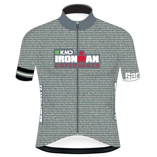 IRONMAN COPENHAGEN 2019 MEN'S NAME CYCLE JERSEY
