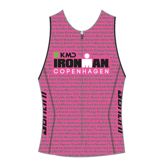 IRONMAN COPENHAGEN 2019 WOMEN'S NAME TRI TOP