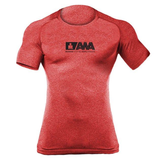 IRONMAN Men's All World Athlete Tech Tee - Red