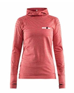 IRONMAN CRAFT Women's Hoodie- Red