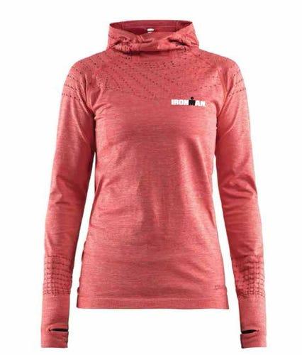IRONMAN CRAFT Women's Hoodie- Red