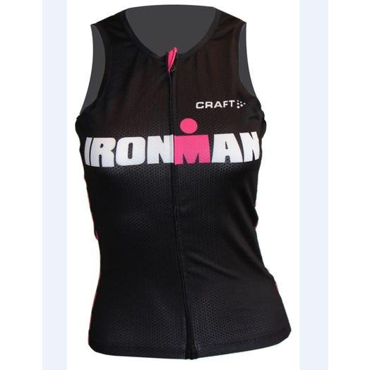 IRONMAN Craft Women's Tri Tank - Black/Pink