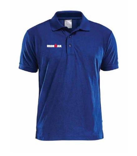 IRONMAN Men's Craft Polo - Dark Blue