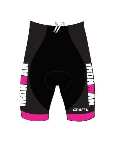 IRONMAN Craft Women's Tri Short - Black/Pink