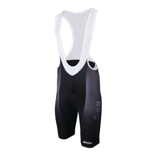 IRONMAN SANTINI MEN'S MUTED CYCLE BIB SHORT