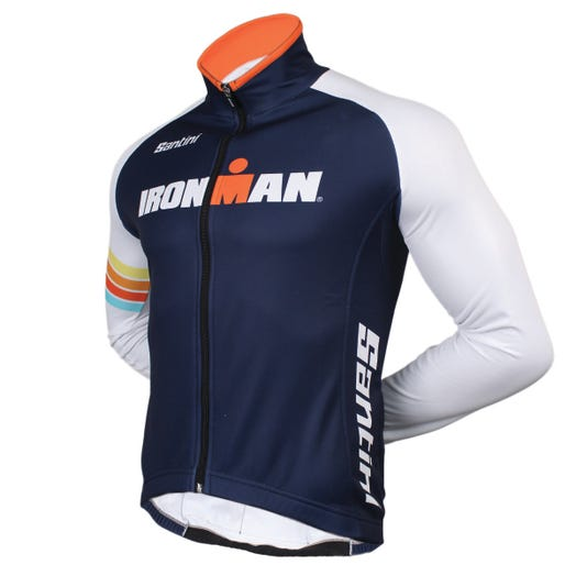 IRONMAN SANTINI MEN'S SUNSET CYCLE JACKET