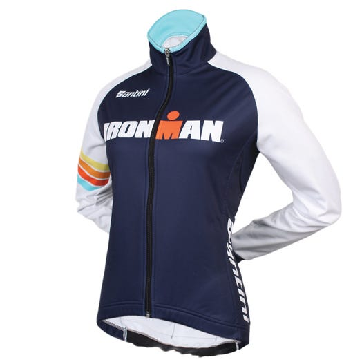 IRONMAN SANTINI WOMEN'S SUNSET CYCLE JACKET