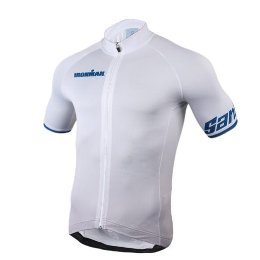 IRONMAN SANTINI MEN'S MUTED CYCLE JERSEY