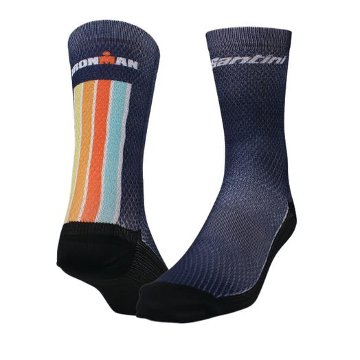 IRONMAN SANTINI UNISEX SUNSET CYCLE SOCKS