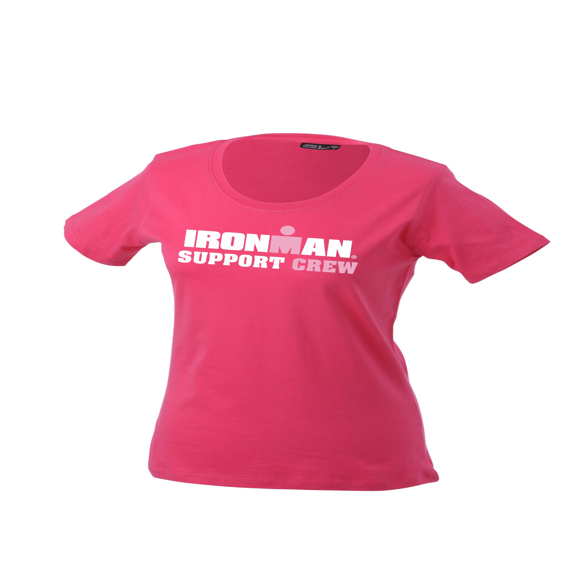 IRONMAN Support Crew Women's Tee - Berry