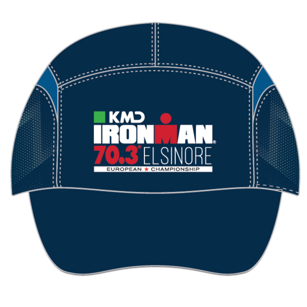 IRONMAN 70.3 ELSINORE EVENT TECH HAT - BLUE