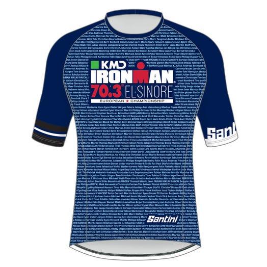 KMD IRONMAN 70.3 ELSINORE 2019 EUROPEAN CHAMPIONSHIP MEN'S PERFORMANCE NAME TEE