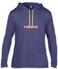 IRONMAN FINISHER Men's Long Sleeve Tee - Blue