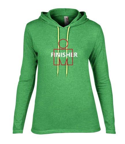 IRONMAN FINISHER Women's Long Sleeve Tee - Green