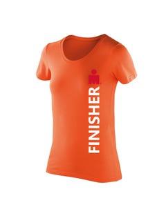 IRONMAN FINISHER Women's Tech Tee - Orange