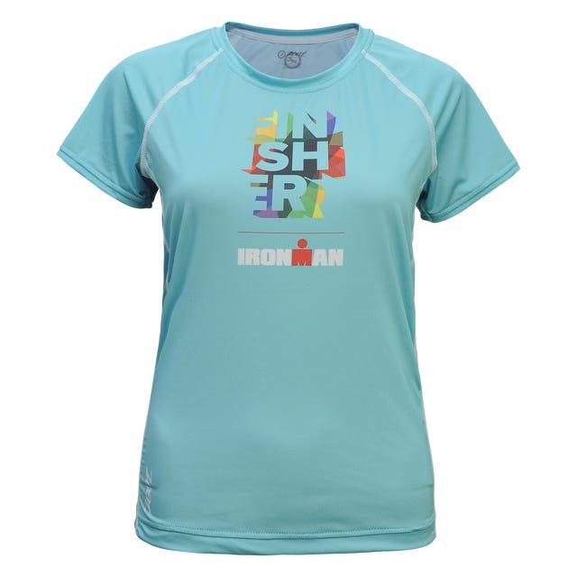 IRONMAN Zoot Women's FINISHER Tech Tee- Blue