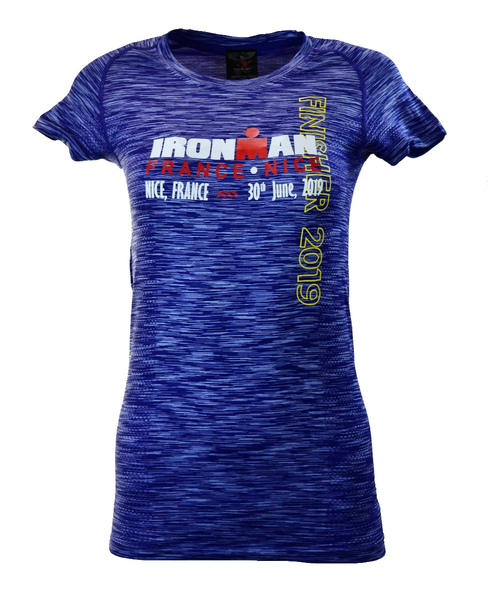 IRONMAN FRANCE WOMEN'S FINISHER SEAMLESS TEE